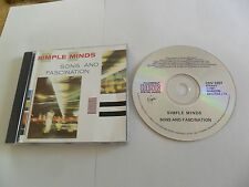 Simple Minds - Sons and Fascination (CD 1985) SANYO JAPAN Pressing