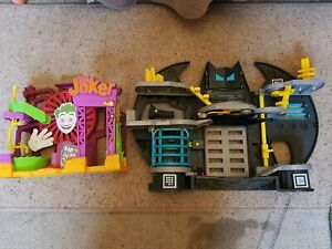 Fisher Price DC Super Friends Imaginext Batcave and Joker Playset