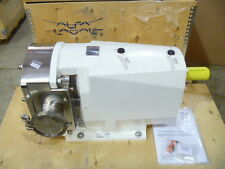 "4"" Alfa Laval SX6/190 Tri-Clamp Rotary Lobe Displacement Pump w/ MTRs 2012 NEW"