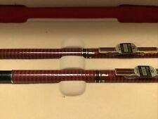 Vintage Micro gift set fine point roller ball pen .5 pencil Marbel Set Red Box