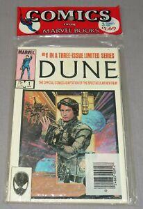 DUNE #1 2 3 Full Run 1-3(Sealed Three Pack) Marvel Comics 1985 Movie Adaptation