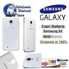 Copri batteria Retro Cover Samsung Galaxy S4 i9505 i9500 Bianco White Originale