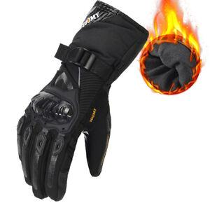 Waterproof Windproof Touchscreen Motorcycle Motorbike Riding Full Finger Gloves
