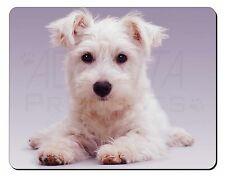 West Highland Terrier Dog Computer Mouse Mat Christmas Gift Idea, AD-W7M