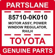 85710-0K010 Toyota OEM Genuine MOTOR ASSY, POWER WINDOW REGULATOR, RH/LH
