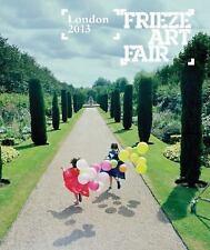 FRIEZE LONDON CATALOGUE 2013 - NEW PAPERBACK BOOK