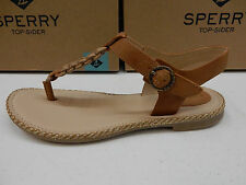 SPERRY TOP SIDER WOMENS SANDALS ANCHOR AWAY TAN SIZE 7.5
