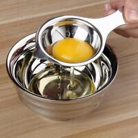 Home Stainless Steel Egg White Yolk Filter Separator Cooking Tool Kitchen Gadget