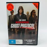 Mission Impossible: Ghost Protocol (DVD, 2011) Region 4 With Tom Cruise VGC