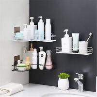 Bathroom Punch-Free Corner Shower Shelf Rack Kitchen Storage Rack Self-adhesive