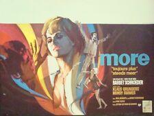 MORE Belgian movie poster BARBET SCHROEDER PINK FLOYD 1969 RAY Art NM