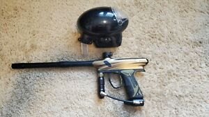OLIVE Dye Proto PMR Paintball Gun ( with Evlution 2 viewloader hopper )