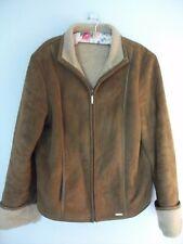 Next sheepskin look jacket size 14