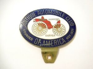 Antique Automobile Club of America - Metal Grille Emblem - Founded Nov. 1935