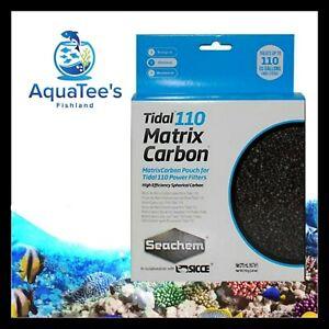 SEACHEM TIDAL MATRIX CARBON 110 FILTER REPLACEMENT MEDIA PACK Aquarium Tank Salt