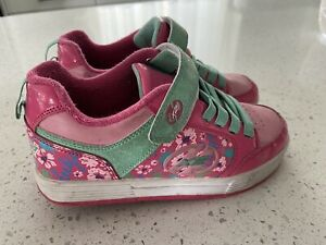 Girls Youth Heelys Plus Skate Shoes Size Youth 3 Sneakers 2 Wheels