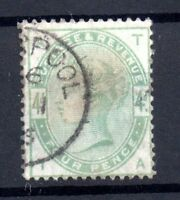 GB QV 1883 4d green SG192 fine Liverpool CDS used WS17498