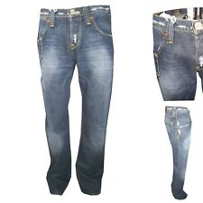 Jeans Lee Uomo Bootcut Roscoe W31 33 Azzurro Pantaloni denim zampa elefante lose
