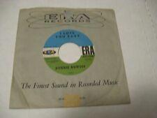 **Donnie Bowser/ I Love You Baby b/w Stone Heart/ ERA/ 1960/ Promo
