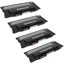 4pk CLT-K409S BLACK Toner Cartridge for Samsung CLP 315