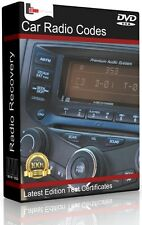 CAR RADIO UNLOCK CODE  & RECOVERY SOFTWARE. PROGRAM FOR ALL CAR AUDIO & STEREO