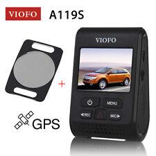 Viofo A119S Capacitor Novatek 96660 GPS Car Dash Camera+CPL Filter Lens Original