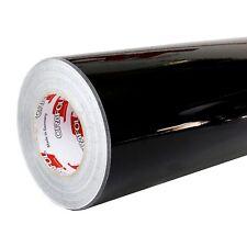 3,3€/m² Plotterfolie SCHWARZ Oracal 621 070 glänzend 31,5cm x 500cm Glanz Folie