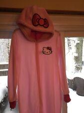 New Women's  Hello Kitty Feet Pajamas W~hood Size XLarge RTV$44.00