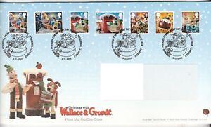 2010 Wallace & Grommit FDC, Bethlehem Strike, Typed Address