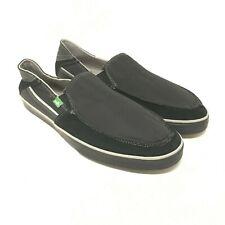 SANUK Men's Standard Streaker Slip On #0311 In Black Color size: 11 US #4