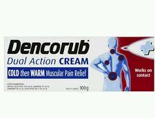 3 × Dencorub Dual Action Heat Cream 100G - OzHealthExperts