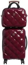 it Luggage 8 Wheel Hard Cabin Suitcase & Vanity Set - Berry