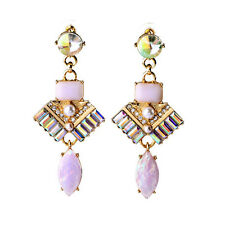 E2064 Southern Style Inspired Bevelled Drop Earrings Most Popular Fall 2015 New