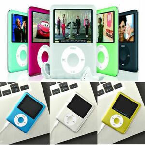 "MP3 MP4 IPod Style Portable 1.8"" LCD Music Video Media Player FM Radio"