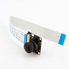 Module caméra 5MP 160° grand angle 720/1080P pour Raspberry Pi +câble 15 broches