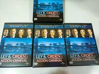 Ley & Orden Primera Temporada 1 Completa - 6 x DVD Español English