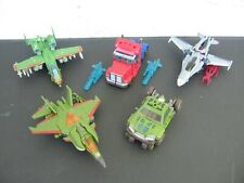 Transformers Cyberverse Optimus Prime Starscream Bulkhead Legends lot