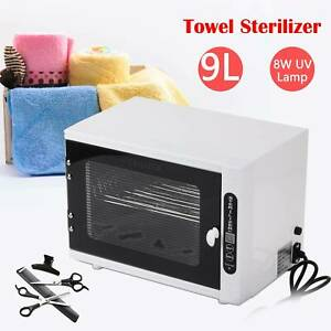 9L UV Disinfection Towel Sterilizer Cabinet Salon Beauty Tattoo Hairdressing UK