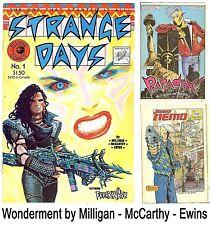 Strange Days #1 (Eclipse 1984 vf/nm) new and unread - McCarthy, Ewins, Milligan