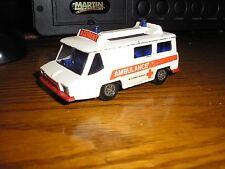 """RARE Nice Vintage Corgi 1/43 ? 4"""" long Motorway Ambulance"""
