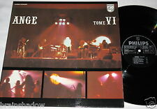 ANGE tome VI 2 LP Philips Rec. FRANCE 1977 SPACE PROG ROCK !!!