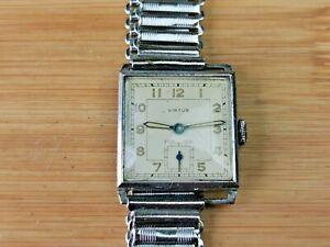 Nice Vintage Virtus (Oris Cal 296) Mens Sub-Dial Wrist Watch, Lume Hands