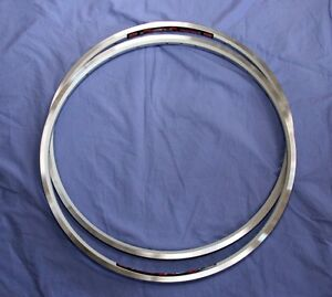 "SunRingle UFO rim pair (2) 26"" 559 X 21mm 24h NEW!"