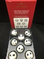 MANY FACES OF JACK SKELLINGTON, THE 2020 Hallmark Ornament Disney Tim Burton's