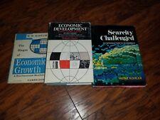 3 Vintage Economic Textbooks