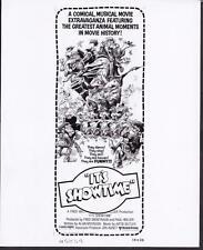 Rin Tin Tin Flipper Trigger Daisy It's Showtime 1976 original movie photo 20736