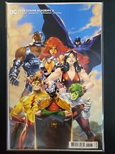Teen Titans Academy #2 B Variant Dc Nm Comics Book
