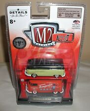 M2 Machines AUTO LIFT 2 PACK 1960 vw delivery van usa model R16  new