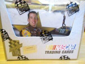 PRESS PASS 2008 VIP NASCAR RACING FACTORY SEALED HOBBY BOX GORDON?  BUSCH?