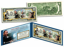 MARTIN LUTHER KING (MLK) * 50th Anniversary * Official Legal Tender U.S. $2 Bill